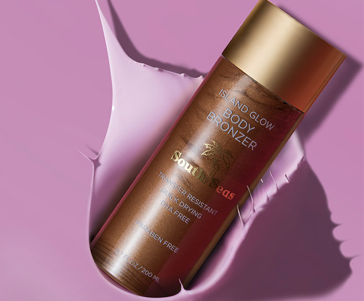 South Seas Island Glow Body Bronzer | Dermstore Blog