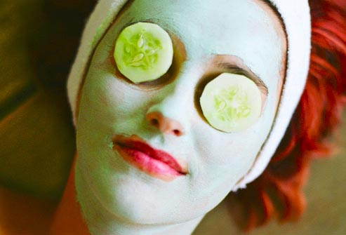 Image result for cucumber for eye bag