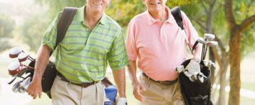 Walking while golfing: Is this sufficient exercise?