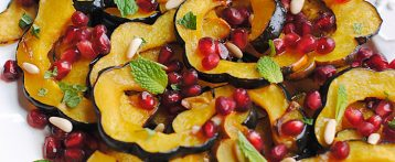 Holiday Glazed Acorn Squash