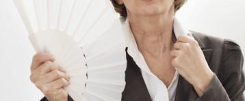 Is it normal for hot flashes to last long after menopause begins?