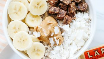 Peanut Butter and Banana Overnight Oats