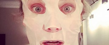 7 Celebrities Who Can't Live Without Their Sheet Masks!