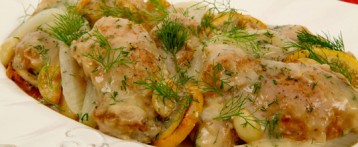 Healthy and delicious diet-Lemon Dill Chicken
