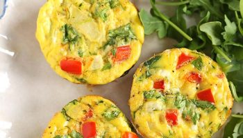 Healthy Veggie Egg Muffins For Breakfast
