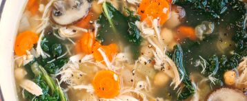 Detox Immune-Boosting Chicken Soup