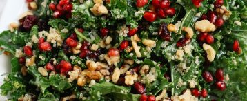 Winter Kale and Quinoa Salad